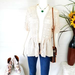 Anthropologie Knitted and Knotted beautiful wrap